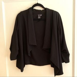 Aqua brand black blazer size medium